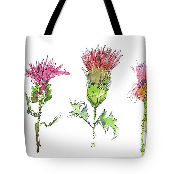 What Is It About A Thistle Tote Bag