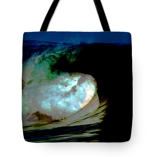 What Is It Fantasy Fusion Accidental Discovery Art  Psychedelic Tote Bag
