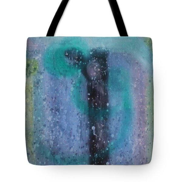 Tote Bag featuring the painting What Is From The Deep Heart? by Min Zou