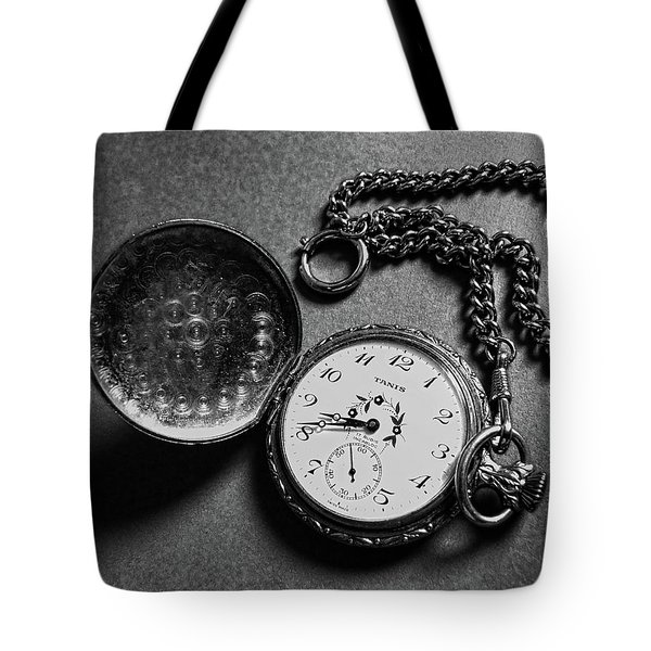 What Is The Time? Tote Bag by Jasna Dragun