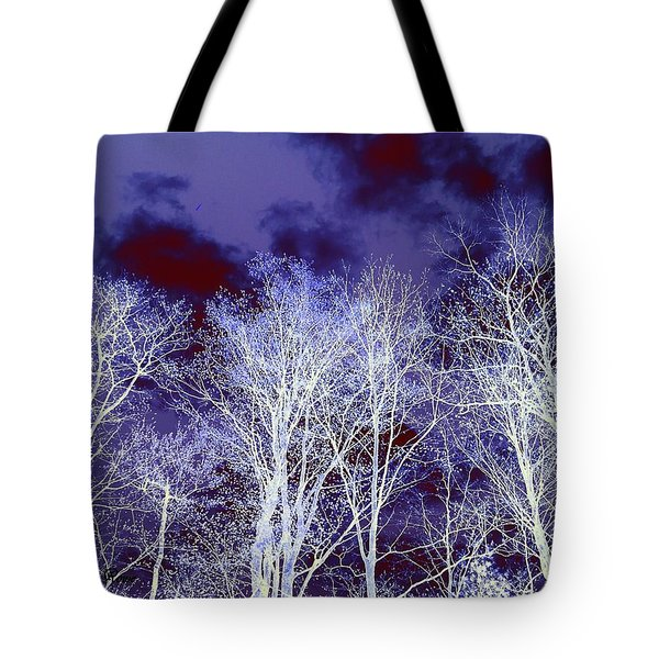 Tote Bag featuring the photograph What Lies Above by Shana Rowe Jackson