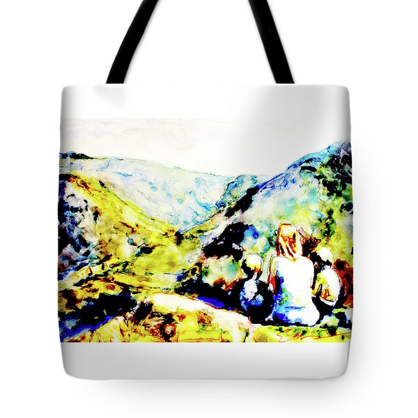 What Lies Ahead Tote Bag