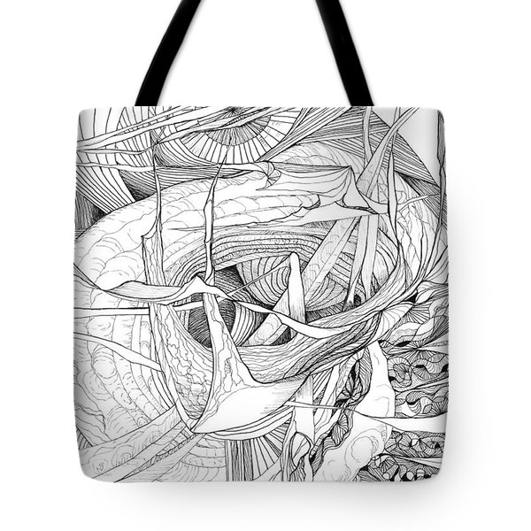 What Lies Within Tote Bag by Charles Cater