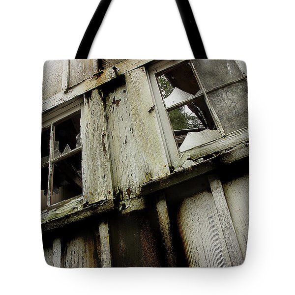 Tote Bag featuring the photograph What Lies Within by Mike Eingle