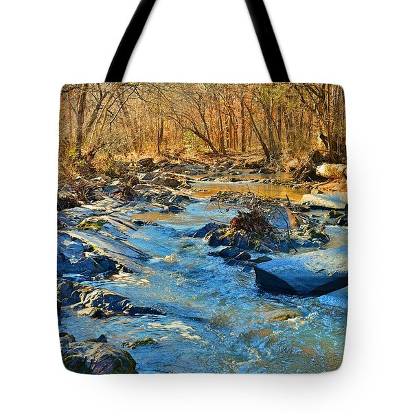 What Streams Are Made Of Tote Bag