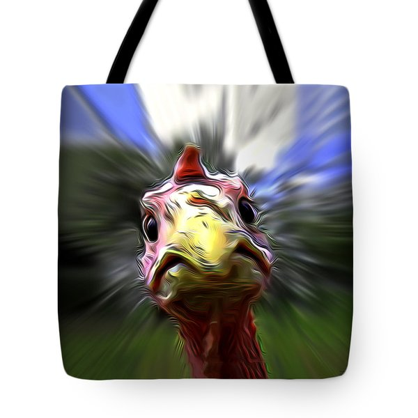 What The Duck Paulie Tote Bag