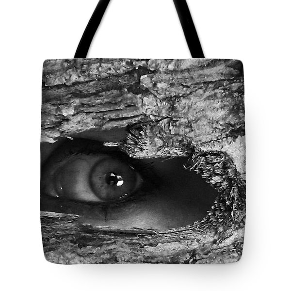 What The Forest Sees Tote Bag