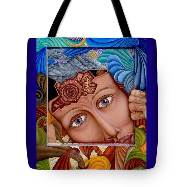 What The Mind Feels Tote Bag