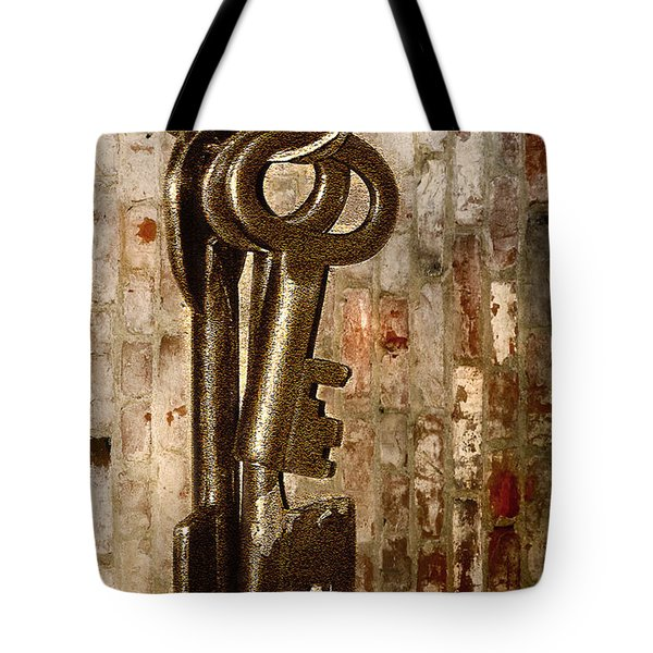 What They Unlock Tote Bag by Charuhas Images