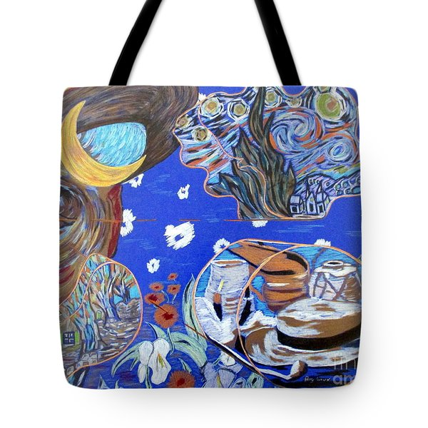What Was He Thinking? Tote Bag
