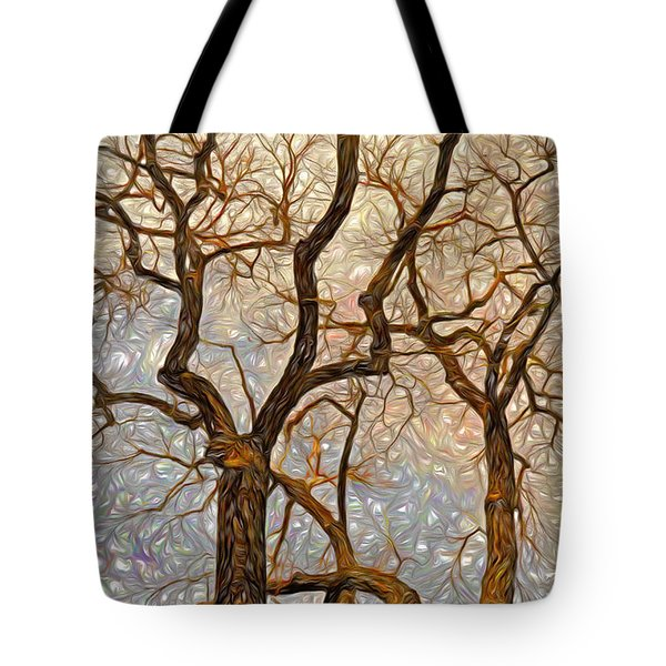What We See The Mind Believes Tote Bag by James Steele