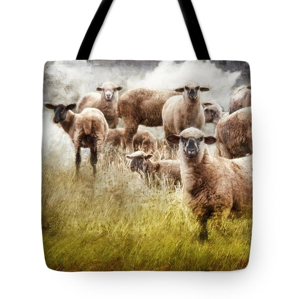 Tote Bag featuring the photograph What You Lookin' At? by Rhonda Strickland