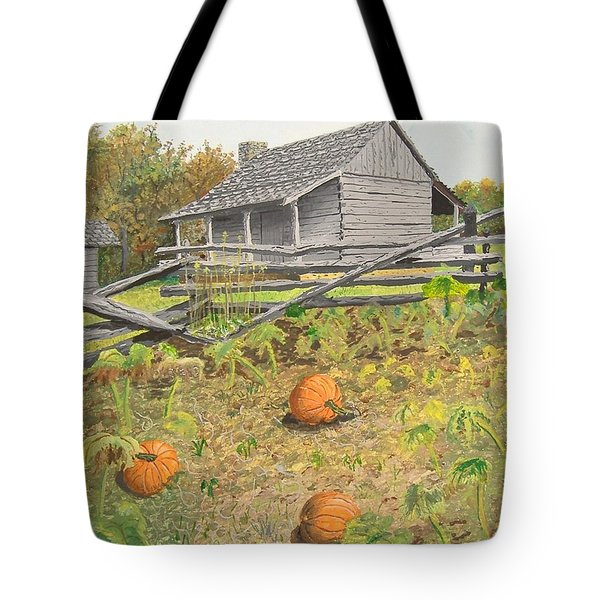 What's Left Of The Old Homestead Tote Bag by Norm Starks