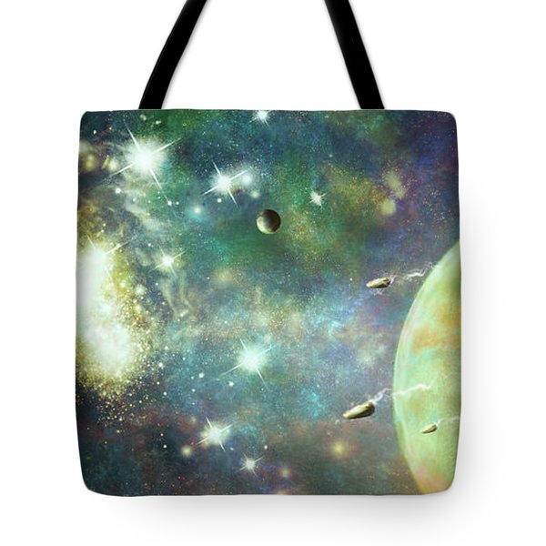 What's Out There Tote Bag