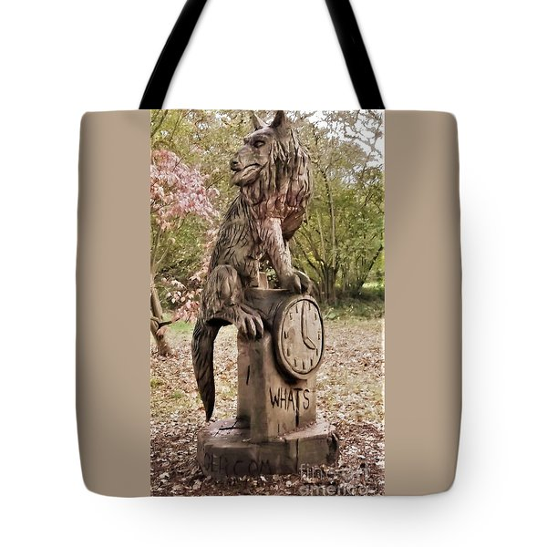 Whats The Time Mr Wolf Tote Bag by John Williams