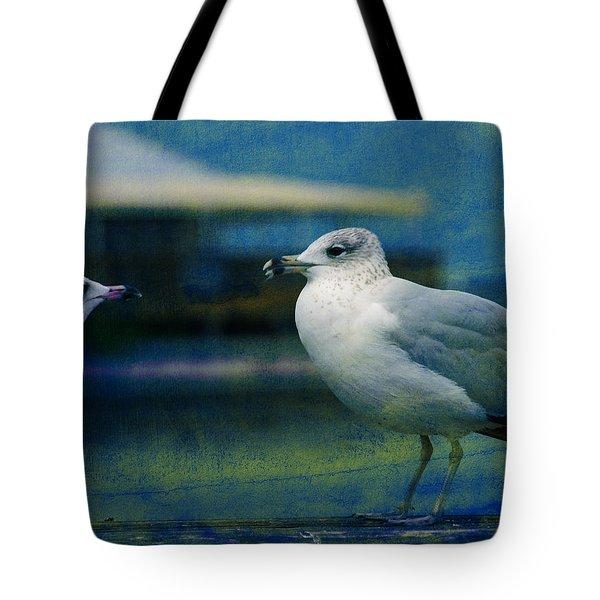 What's Up Bro' Tote Bag by Susanne Van Hulst