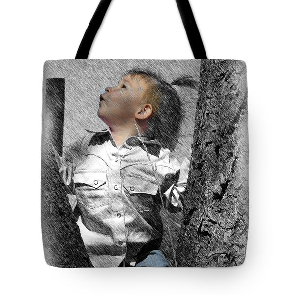 What's Up There Tote Bag