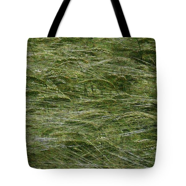 Tote Bag featuring the photograph Wheat Field by Jean Bernard Roussilhe