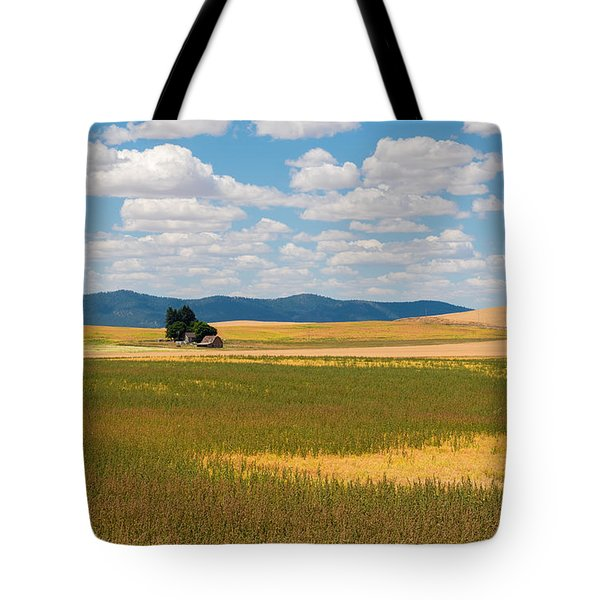 Wheat Fields In The Palouse Tote Bag