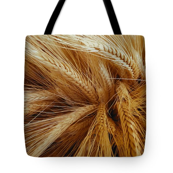 Wheat In The Sunset Tote Bag