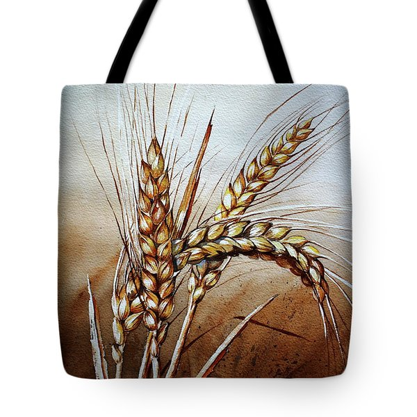 Wheat Stalk Tote Bag