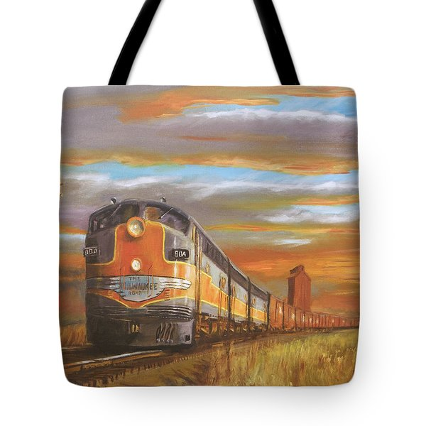 Wheat....from North Dakota Tote Bag by Christopher Jenkins