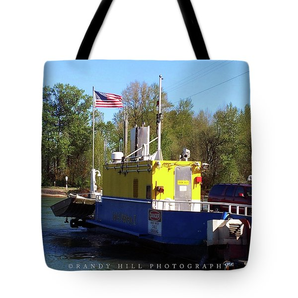 Wheatland Ferry Tote Bag