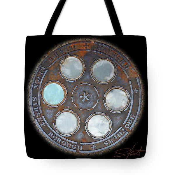 Wheel 2 Tote Bag by Charles Stuart