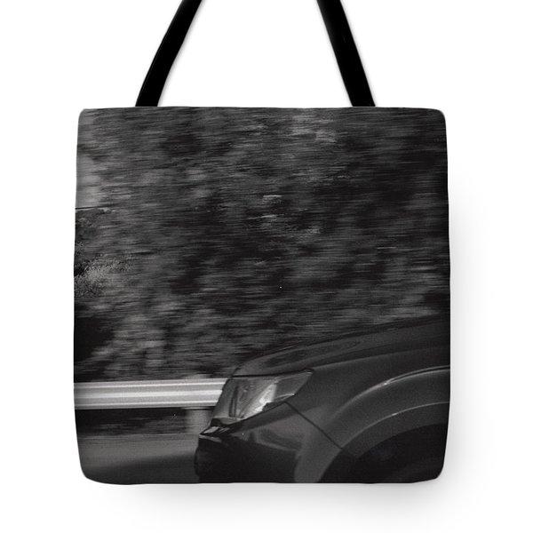 Wheel Blur Photograph Tote Bag