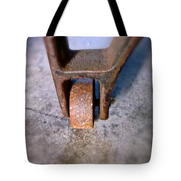 Wheel Of Fortune Tote Bag by Gwyn Newcombe