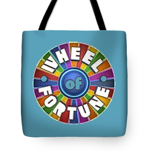 Wheel Of Fortune T-shirt Tote Bag
