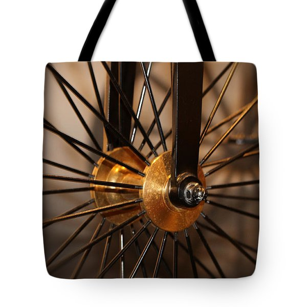 Wheel Spokes  Tote Bag