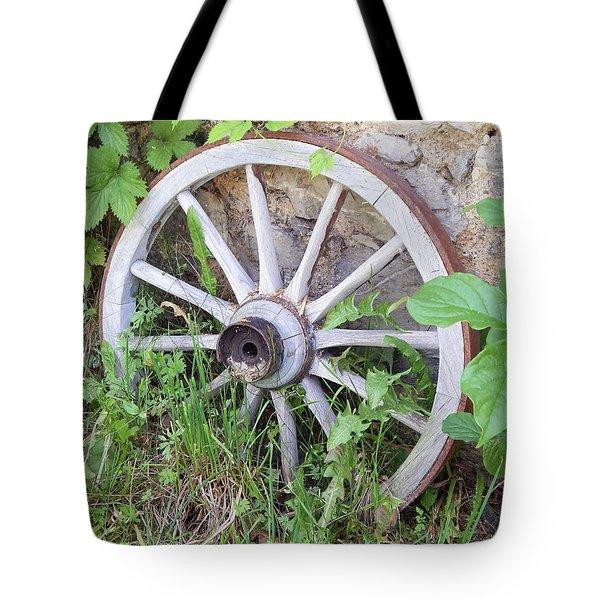 Wheel Walk Tote Bag by Patrick Murphy