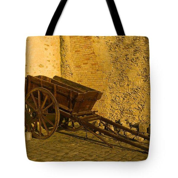Wheelbarrow Tote Bag by Sebastian Musial