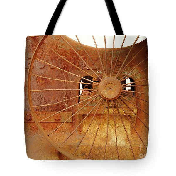 Wheels Of Progress #2 Tote Bag