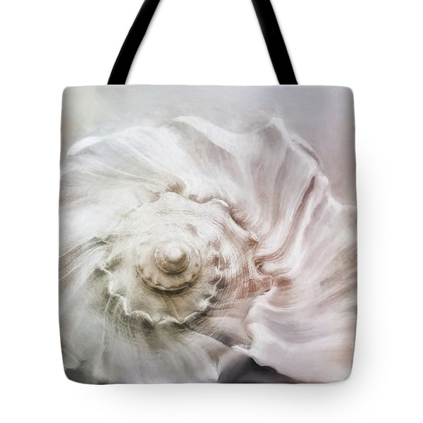 Tote Bag featuring the photograph Whelk Shell by Benanne Stiens