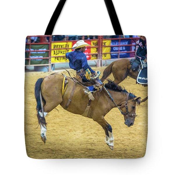 When A Horse Tries Hard  Tote Bag