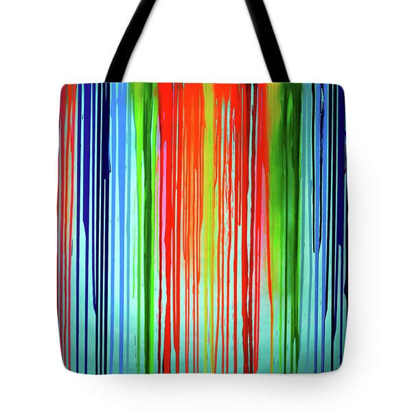 When A Rainbow Cry - Rainbow Tears Tote Bag