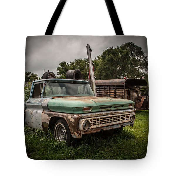 When A Truck Was Tote Bag by Ray Congrove
