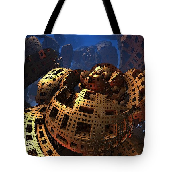 Tote Bag featuring the digital art When Black Friday Comes by Lyle Hatch