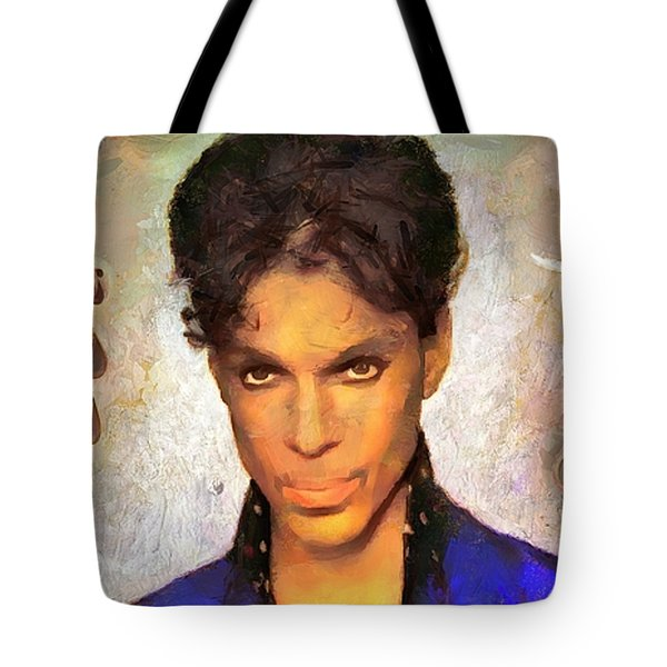 When Doves Cry Tote Bag by Wayne Pascall