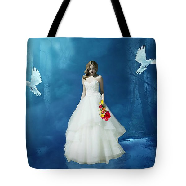 When Doves Fly Tote Bag