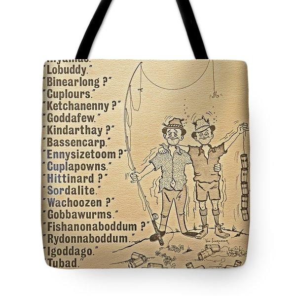 When Fishermen Meet Tote Bag