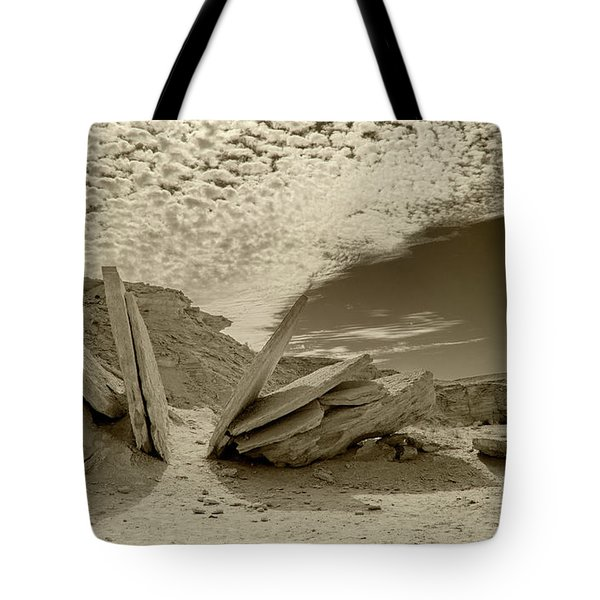 When God Cuts Slices..... Tote Bag