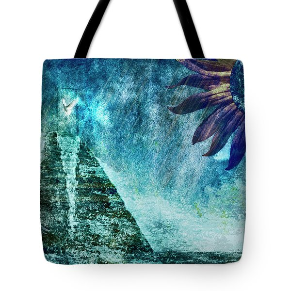 When Heaven Cries Tote Bag by Yvonne Emerson AKA RavenSoul