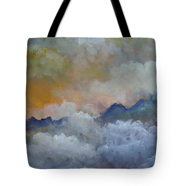 When I Consider Your Heavens Psalm 8 Tote Bag by Dan Whittemore