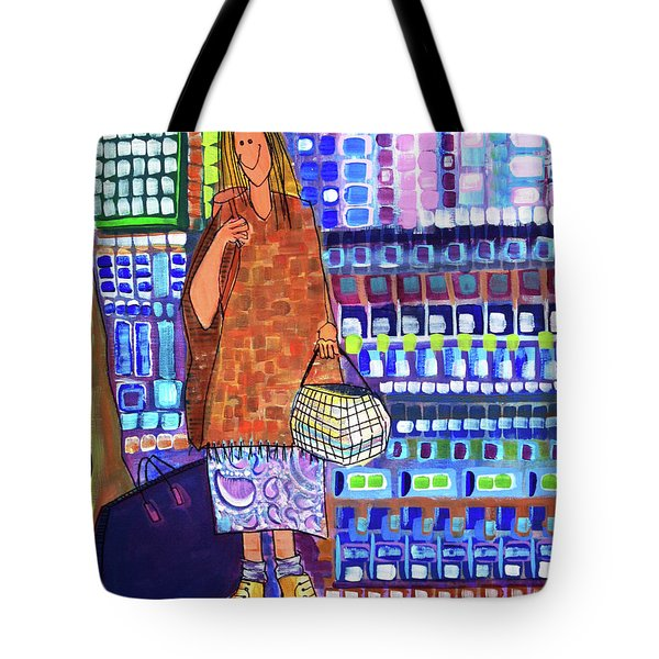 Tote Bag featuring the painting When I Was Cool by Donna Howard
