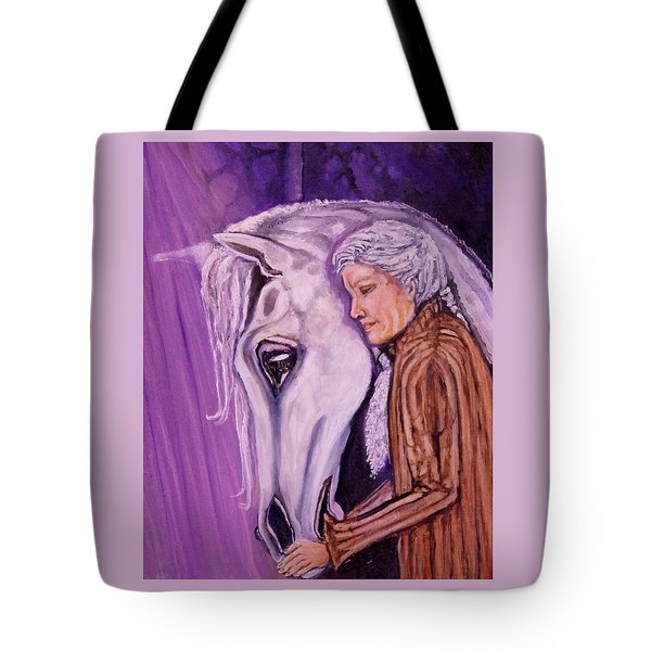 When I'm An Old Horsewoman Tote Bag