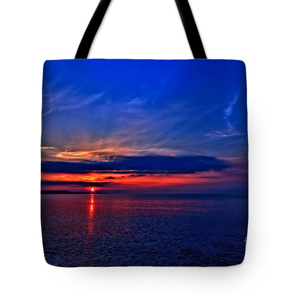 Tote Bag featuring the photograph When I'm Feeling Blue by Baggieoldboy