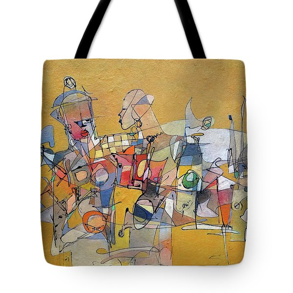 When Its Not Your War Tote Bag by Ronex Ahimbisibwe